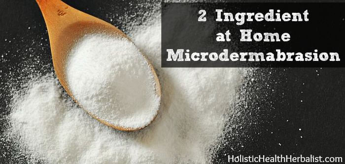 DIY 2 Ingredient at Home Microdermabrasion