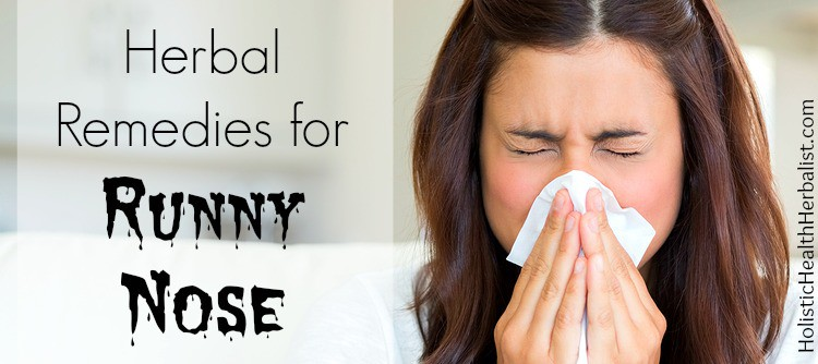 herbs for runny nose
