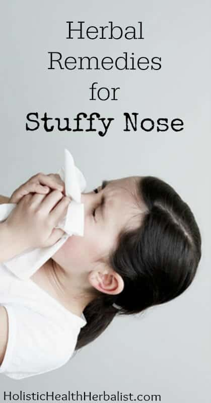stuffy nose remedies