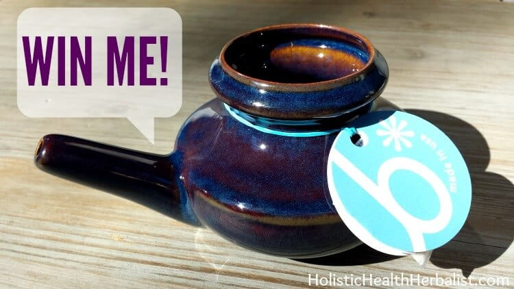 win a neti pot