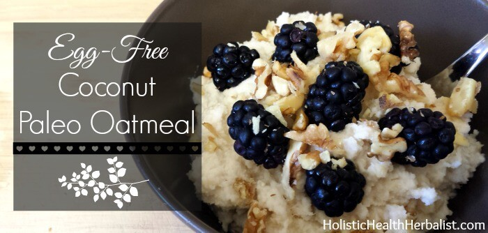how to make paleo oatmeal