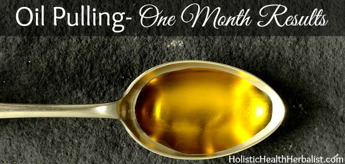 30 day oil pulling