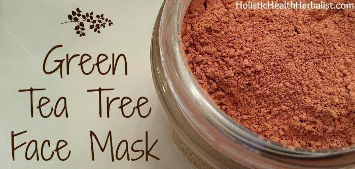 DIY Green Tea Tree Face Mask