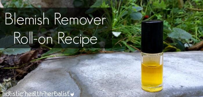 diy blemish remover recipe