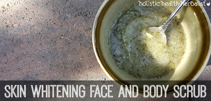 how to make a Skin Whitening Face and Body Scrub