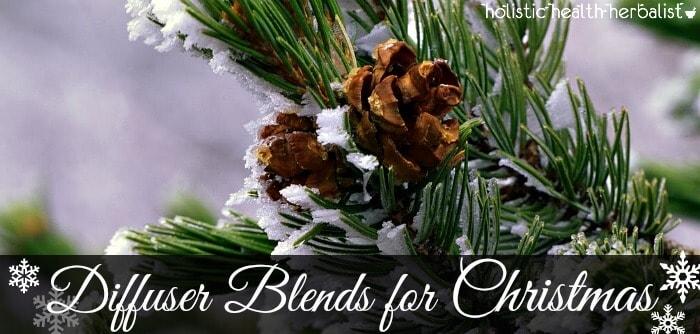 diffuser blends for christmas season