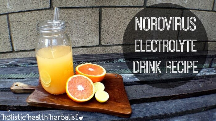 simple Norovirus Electrolyte Drink Recipe