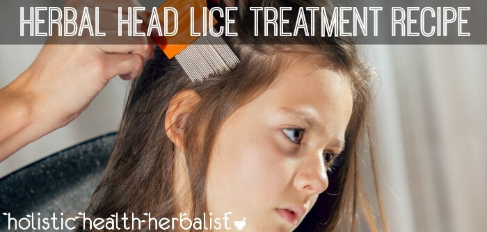 DIY Herbal Head Lice Treatment Recipe