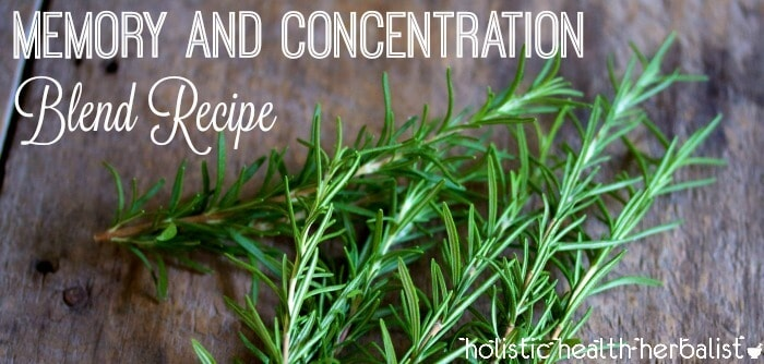DIY Memory and Concentration Blend Recipe
