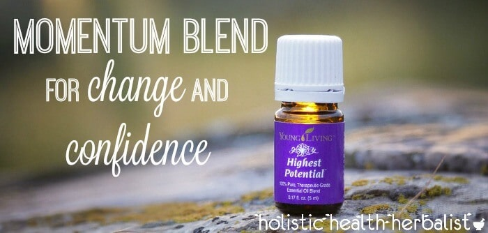 momentum blend with young living oils