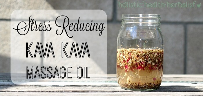 kava kava massage oil
